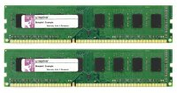 Kingston KVR 4 GB (2x2GB) KVR1066D3N7/2G DDR3-1066...