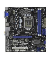 ASRock H55M/USB3 Intel H55 Mainboard Micro ATX Sockel...
