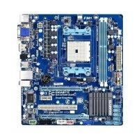 Gigabyte GA-A75M-D2H Rev.1.0 AMD A75 Mainboard Micro ATX...