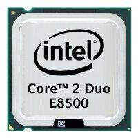 Intel Core 2 Duo E8500 (2x 3.16GHz) SLAPK CPU Sockel 775...
