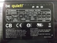 Be Quiet Dark Power Pro P6 600W (BN031) ATX Netzteil 600...