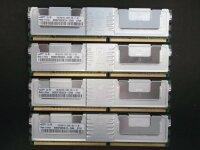 Samsung 4 GB (4x1GB) FB-Dimm 240pin DDR2-667 PC2-5300F...