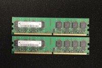 2 GB (2x1GB) Arbeitsspeicher für Fujitsu Siemens...