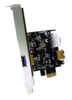 Fujitsu Siemens Sunrich U-550 USB 3.0 Adapter Karte 1x...