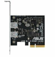 ASUS USB 3.1 2-Port Card PCI-E Karte 2 x USB 3.1   #93989