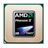 AMD Phenom II X6 1045T (6x 2.70GHz) HDT45TWFK6DGR CPU...