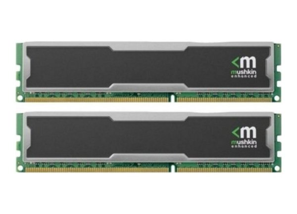 Mushkin 4 GB (2x2GB) 996768 Silverline DDR3-1333 PC3-10666   #39222