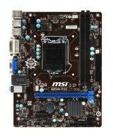 MSI B85M-P33 MS-7817 Ver.1.2 Intel H81 Mainboard Micro...