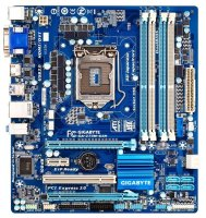 Gigabyte GA-Z77M-D3H Rev.1.0 Intel Z77 Mainboard Micro...