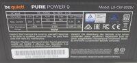 Be Quiet Pure Power 9-CM 600W (BN268) ATX Netzteil 600...