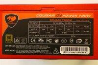 Cougar CM 700W (700CM) ATX Netzteil 700 Watt 80+ modular...