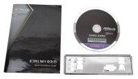 ASRock E35LM1 Handbuch - Blende - Treiber CD   #36691