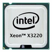 Intel Xeon X3220 (4x 2.40GHz) SLACT CPU Sockel 775   #32093
