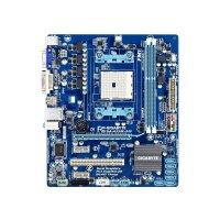 Gigabyte GA-A55M-S2V Rev.1.0 AMD A75 Mainboard Micro ATX...