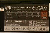 Cooler Master GX Series 650W (RS-650-ACAA-D3) ATX...
