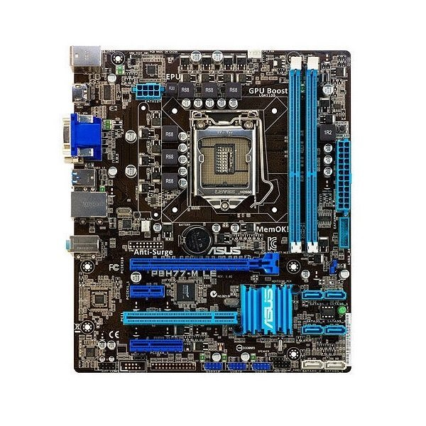 ASUS P8H77-M LE Intel H77 Mainboard Micro ATX Sockel 1155   #34159
