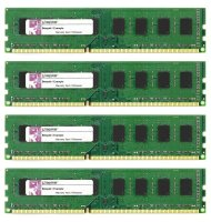 Kingston 8 GB (4x2GB) KVR13N9S6/2 DDR3-1333 PC3-10600...