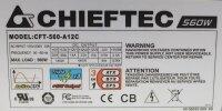 Chieftec Super CFT-560-A12C 560W ATX Netzteil 560 Watt...
