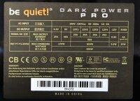 Be Quiet Dark Power Pro BQT P7-Pro-650 Watt modular   #31864