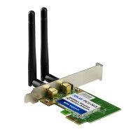 ASUS PCE-N13 Wireless LAN PCI Express Adapter PCIe x1...