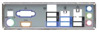 MSI FM2-A75IA-E53 Blende - Slotblech - I/O Shield   #80003