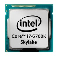 Intel Core i7-6700K (4x 4.00GHz) SR2L0 Skylake CPU Sockel...