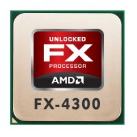 AMD FX Series FX-4300 (4x 3.80GHz) FD4300WMW4MHK CPU...