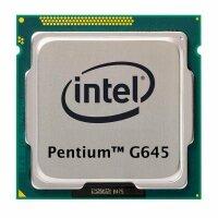 Intel Pentium G645 (2x 2.90GHz) SR0RS CPU Sockel 1155...