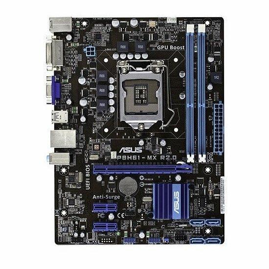 ASUS P8H61-MX R2.0 Intel H61 Mainboard Micro ATX Sockel 1155   #70034