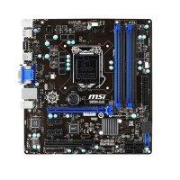MSI B85M-E45 Intel B85 Mainboard Micro ATX Sockel 1150...