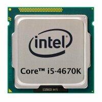Intel Core i5-4670K (4x 3.40GHz) SR14A CPU Sockel 1150...