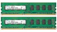 Samsung 8 GB (2x4GB) M378B5173DB0-CK0 PC3-12800 DDR3-1600...