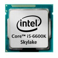 Intel Core i5-6600K (4x 3.50GHz) SR2BV Skylake CPU Sockel...