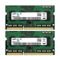 8 GB SO-DIMM (2x4GB) Samsung M471B5273DH0-CH9 DDR3...