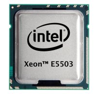 Intel Xeon E5503 (2x 2.00GHz) SLBKD CPU Sockel 1366   #90543