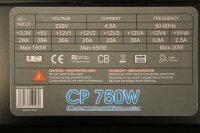 CombatPower CP 750W ATX Netzteil 750 Watt   #36274