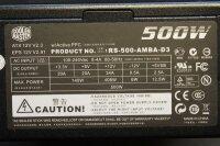 Cooler Master Silent Pro M500 500 Watt 80+ modular   #39363