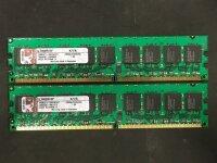 Kingston 4 GB (2x2GB) KVR667D2E5/2GI PC2-5300 FSB 533 MHz...