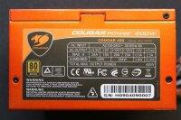 Cougar Power 400W (HEC-400TE) ATX Netzteil 400 Watt 80+...