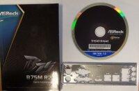 ASRock B75M Handbuch - Blende - Treiber CD   #38862