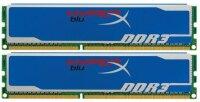 Kingston HyperX blu. 8 GB (2x4GB) KHX1600C9D3B1/4G...