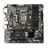 ASRock B75 Pro3-M Intel B75 Mainboard Micro ATX Sockel...