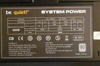 Be Quiet System Power S6 80Plus 350W (BN081) ATX Netzteil...