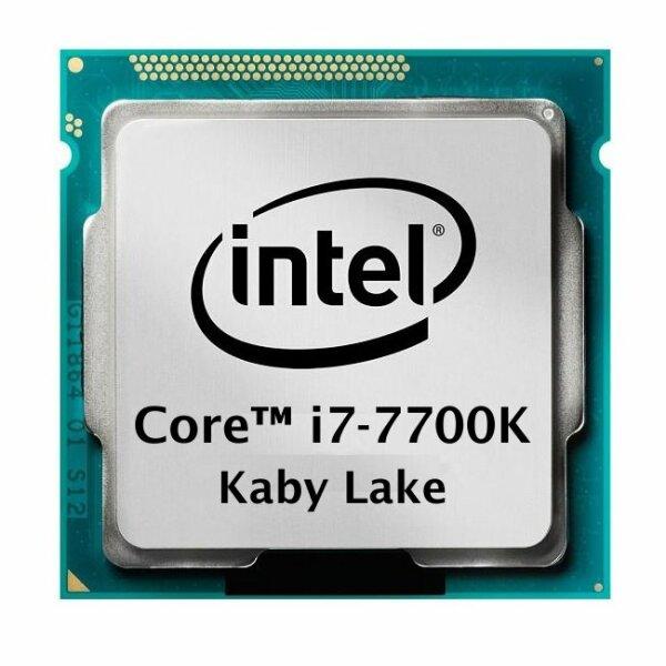Intel Core i7-7700K (4x 4.20GHz) SR33A Kaby Lake CPU Sockel 1151   #104671