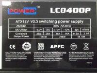LC Power 80+ LC8400P 400 Watt 80 Plus   #30951