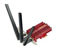 ASUS PCE-AC68 Dual Band 2.4GHz / 5GHz WLAN, WLAN-Adapter,...