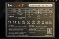 Be Quiet Straight Power E6 400W (BN083) ATX Netzteil 400...