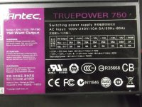 Antec TP-750 True Power 750 Watt modular   #31222