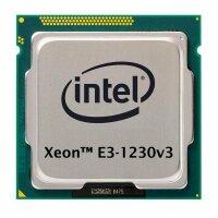 Intel Xeon E3-1230 v3 (4x 3.33GHz) SR153 CPU Sockel 1150...