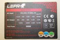 Lepa N500-SA-EU 500 Watt ATX Netzteil 500 W   #110078